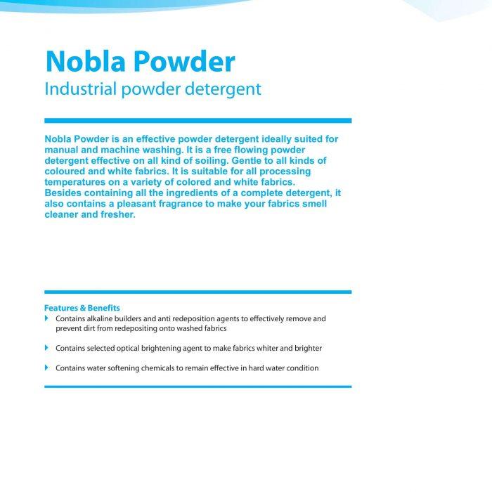 Laundry Diversey Nobla Powder